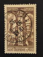 Timbre 302  3f50 Brun St-Trophime  Oblitéré  Cote 4,60€ - France