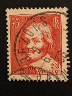 Timbre 306  75c Rouge-brique  Oblitéré - France