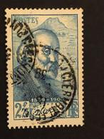 Timbre 421  2f25 Bleu Cézanne Oblitéré  Cote 4,00€ - France