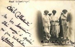 BATEAUX - Carte Postale Photo - A Bord Du Salazie En 1906 à Hanoï - L 74125 - Dampfer