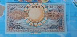 INDONESIA 50 RUPIAH 1959 P68 UNC - Indonesia