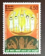 Sri Lanka 2003 Anti Narcotic Week MNH - Sri Lanka (Ceylon) (1948-...)