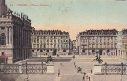 Torino - Piazza Castello - Fp Vg 1920 - Places