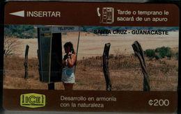 COLOMBIA 1996 PHONECARD SANTA CRUZ MINT VF!! - Colombia