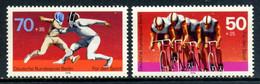 Germany Berlin 1978 Alemania / Sport Cycling Fencing MNH Ciclismo Esgrima Deportes / Eo04  32-43 - Ciclismo