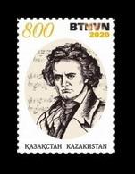 Kazakhstan 2020 Mih. 1208 Music. Composer Ludwig Van Beethoven MNH ** - Kasachstan
