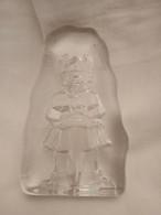 Paperweight Viking, Kosta Boda Glass, Sweden - Fermacarte