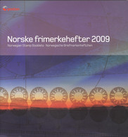 Norwegen Markenheftchen Jahrgang 2009 Komplett Im Versandheft Der Postverwaltung ** Postfrisch - Booklets