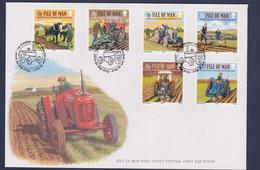 Isle Of Man FDC 2007 Tractors  (LD23) - Verkehr & Transport