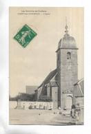 70 - RARE - Les Environs De Conflans. CUBRY-les-FAVERNEY - L' Eglise - Animée - Other Municipalities