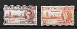VIRGIN ISLANDS 1946 POSTAGE REVENUE MNH - British Virgin Islands