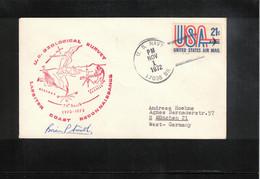 USA 1972 Antarctica US Antarctic Research Programme US Geological Survey Lassiter Coast Reconnaissance Satellite Geodesy - Forschungsprogramme