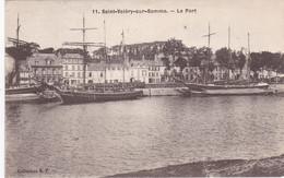 SAINT-VALERY-sur-SOMME - Le Port - Beaux Voiliers à Quai - Saint Valery Sur Somme