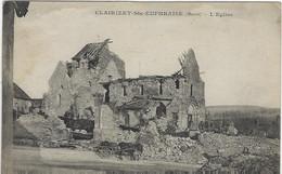 CLAIRIZET - Ste EUPHRAISE - (Marne) - L'église - Guerra 1914-18