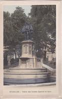 BRUXELLES - Statue Des Comtes Egmont Et Horn - Ed. Du Gd Bazar De La Rue Neuve - Monumenti, Edifici