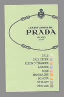 Carte Publicitaire - Advertising Card - Les Infusions De Prada - Modern (from 1961)