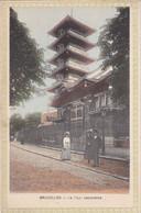 BRUXELLES - La Tour Japonaise - Animé - Ed. Du Gd Bazar De La Rue Neuve - Monumenti, Edifici