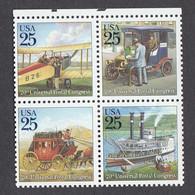 USA 1989 - UPU-Congress, Set Of 4 Stamps, MNH** - Vereinigte Staaten
