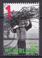 Nederland - Kinderzegels, Laat Kinderen Leren - Kind Met Takkenbos - Gebruikt/gebraucht/used - NVPH 3107b - Gebraucht