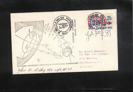USA 1972 Antarctica Byrd Station Stanford University Antarctic Magnetospace Observatory - Forschungsprogramme