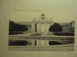 36847 - BRUXELLES - L'ARCADE DU CINQUANTENAIRE - ZIE 2 FOTO'S - Monumenti, Edifici
