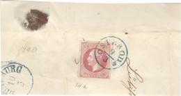 Hannover 14a O Auf Großem Briefstück Einkreisstempel Osterode - Hannover