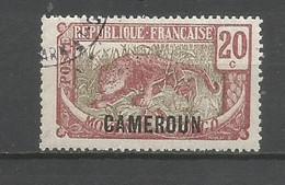 Timbre De Colonie Française Cameroun Oblitéré N 90 - Usati