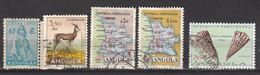 Angola 243 ** + 369 + 383 + 386 + 589 ° - Angola