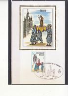 1948 Soie Thuin - Le Beffroi - Folklore - Thuin