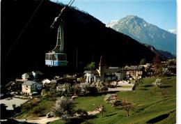 Luftseilbahn Mörel-Riederalp - Mörel Mit Glishorn (44752) * 10. 7. 1987 - VS Valais