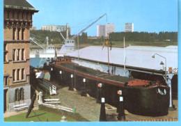 """Antwerpen-Anvers-Nationaal Scheepvaartmuseum-Binnenschip """"Lauranda"""" 1928-Chaland-Péniche-River Barge - Antwerpen"""
