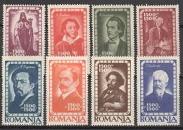 Rumänien 1048/54 ** Postfrisch - 1918-1948 Ferdinand, Charles II & Michael