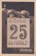 Cartolina Augurale Da E Per Palermo Viaggiata Nel 1915 - Andere