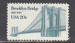 USA 1983 - Brooklyn Bridge, MNH** - Vereinigte Staaten