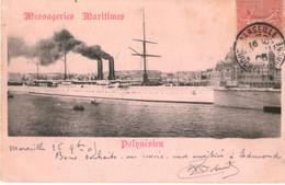Messageries Maritimes Paquebot POLYNESIEN - Dampfer