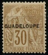 Guadeloupe (1891) N 22 * (charniere) - Ungebraucht