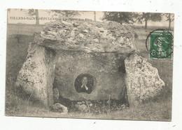 Cp , 60 , VILLERS SAINT SEPULCRE ,la Pierre Aux FEES , Voyagée 1908 , 2 Scans - Otros Municipios