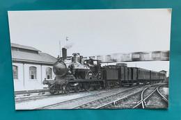 Locomotive Etat 220 303 - Photo Gare Dreux - Années 1930- Train France Avant SNCF - Eisenbahnen
