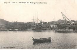 Messageries Maritimes Paquebot Chantiers LA CIOTAT - Piroscafi