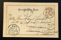 AUSTRIA - Correspondenz-Karte 2kr - 1850-1918 Imperium