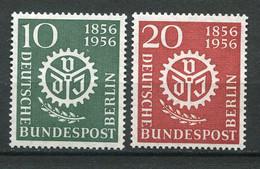 19865 ALLEMAGNE Berlin N°123/4** Association Des Ingénieurs  1956  TB/TTB - Neufs