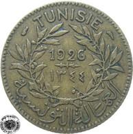 LaZooRo: Tunisia 1 Franc 1926 XF - Tunisie