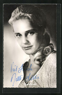AK Schauspielerin Maria Schell In Rose Bernd - Acteurs