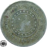 LaZooRo: Brazil 100 Reis 1894 VF - Brasile