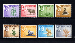 LESOTHO    1967    Various  Designs    Part  Set  Of  8    MNH - Lesotho (1966-...)