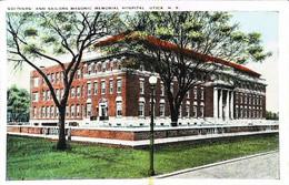 MASONIC MEMORIAL SOLDIER HOSPITAL - Utica N.Y.  (Freemasonry U.S.A. Franc-Maçonnerie Loge Américaine) - Health
