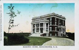 MASONIC HOME - Manchester N.H.  (Freemasonry U.S.A. Franc-Maçonnerie Loge Américaine) - Other