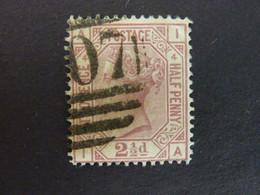 GRANDE BRETAGNE, Année 1875, YT N° 56 Pl.4 Oblitéré, (cote 45 EUR) - Gebruikt