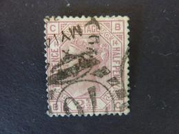 GRANDE BRETAGNE, Année 1875, YT N° 56 Pl.14 Oblitéré, (cote 45 EUR) - Gebruikt