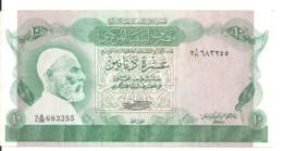 LIBYE 10 DINARS ND1980 VF+ P 46 A - Libya
